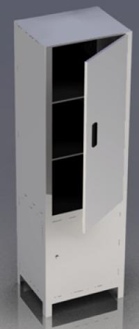 Шкаф медицинский с сейфом